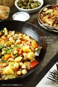 Moroccan Tagine - Vegetarian Dish Day 1