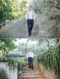 Rita & Marco in Tuscany | Alex Gerrard Photography ich liebe dieses Outfit für den Bräutigam: Hosenträger und Fliege #suspender #bowtie #groom