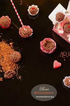 BEER BRIGADEIROS -- Five-ingredient, quick, scrumptious Brazilian fudge balls for VALENTINE'S DAY... SURPRISE YOUR MAN!!!! | From Brazil To You