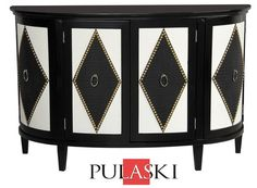Harlequin Accent Cabinet