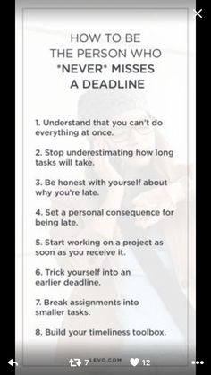 never miss a deadline  | time management, manage time, college time management, college success, get more done college