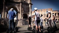 A segway rental Rome is one of the best ways to witness the beauty of the city.