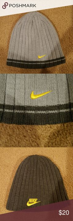 Authentic reversible Nike sock hat BNWOT Authentic Nike reversible sock hat. Nike Accessories Hats