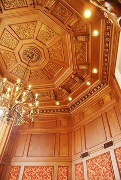 Coffered Ceiling traditional