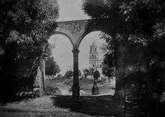 Arcos ubicados en el hoy andador Centenario