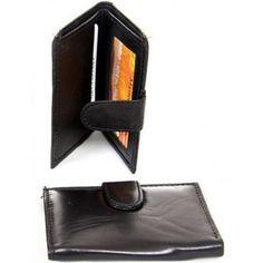 Euro Design Slim Leather Bi-Fold Wallet Pockets Holder Money Credit Card ID Gift…