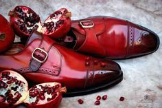 """Pomegranate - Allen Edmonds Edition""  A new Patina signed Alexander Nurulaeff -"
