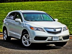 2015 Acura RDX White - okay I know it's not official baby gear but idk what I would do without this car with two little ones. It is the perfect SUV for a small family with babies.