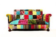 Patchwork Covered Furniture   Patchwork Furniture / Bisley Patchwork Sofa