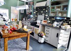 221B Baker Street Kitchen (BBC Sherlock)