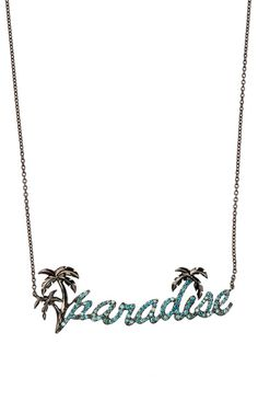 Paradise Pendant by Niko Koulis for Preorder on Moda Operandi