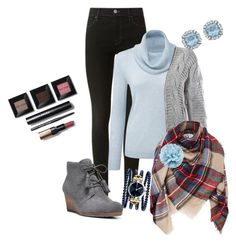 """""""Untitled #94"""" by cherralynray on Polyvore featuring J Brand, Sans Souci, Dr. Scholl's, Gucci and Bobbi Brown Cosmetics"""