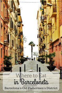 Barceloneta is one of our favorite neighborhoods to eat fresh seafood, paella and amazing tapas in Barcelona. If you're looking for where to eat in Barceloneta, this guide has you covered!