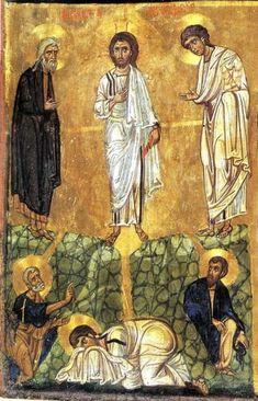 IKONS: The Transfiguration. Thirteenth-century, Monastery of St. Byzantine Icons, Byzantine Art, Religious Icons, Religious Art, Saint Catherine's Monastery, The Transfiguration, Small Icons, Black Jesus, Russian Icons