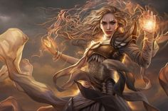 Magic: The Gathering video games fantasy art fantasy girl long hair Serra the Benevolent Fantasy Girl, Fantasy Art Women, Character Portraits, Character Art, Art Magique, Mtg Art, Keys Art, Pop Culture Art, Fantasy Kunst