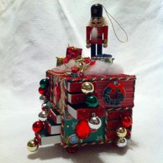 Advent matchbox