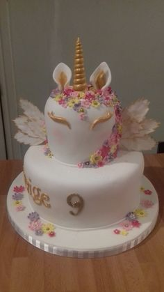 Animal Birthday, Birthday Cake, Cakes, Party, Desserts, Unicorn, Food, Tailgate Desserts, Deserts