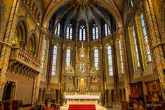 Matthias Church - interior #budapest #hungary #travel