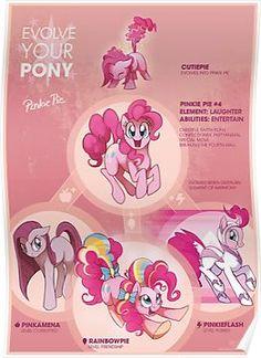 EYP Pinkie Pie Poster