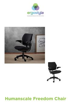 The Humanscale Freedom Chair has a weight-sensitive, self-locking recline mechanism with 20 degrees of movement. Ergonomic Chair, Tilt, Recliner, Workplace, Showroom, Minimalism, Freedom, Arms, Chairs