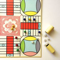 1967 Vintage Parcheesi Family Board Game by MissSarahBelle on Etsy