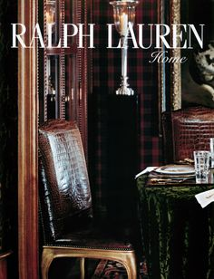 Ralph Lauren Home - my favorite look!
