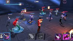 , a leading developer and publisher of mobile games, today announced the worldwide availability of Disney Sorcerer's Arena on the App Store and G Disney Games, Disney Food, Disney Pixar, Pixar Characters, Game Interface, Disney Addict, Pvp, Mobile Game, The Conjuring
