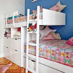 bunk beds//colours..