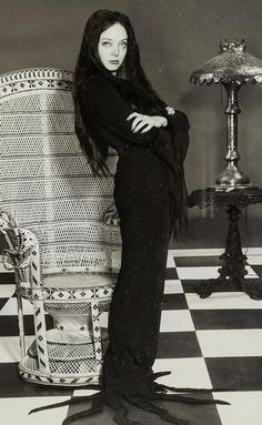 Carolyn Jones as Morticia Addams                                                                                                                                                     More