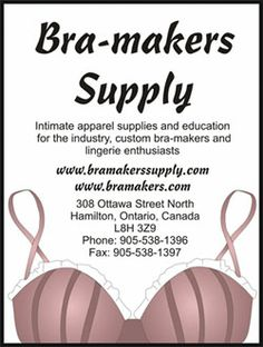 The Bra-makers Supply - kits, supplies, everything needed to make your own lingerie