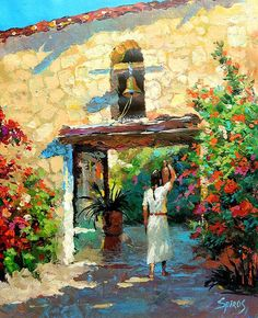 Dmitry Spiros「Mexican girl with jug」