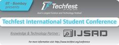 #ijsrd #IIT Bombay #Conference #techfest #ASIA'S LARGEST SCIENCE AND TECHNOLOGY FESTIVAL  Knowledge & Technology Partner : IJSRD.com  http://www.techfest.org/conference