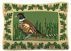 Pheasant - Cross Stitch Kit (printed canvas)