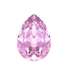14x10mm Rosaline F (508) Pirnikujuline Ehete Kristall 4320 Swarovski Elements.  Ehete Kristallid (Fancy Stones) pakutakse mitmeid erinevaid kasutusvõimalusi , näiteks ehete manipuleerimise ja kanga- või sise-rakendusi.  4320 Pirnikujuline Ehete Kristall Swarovski Elements on saadaval suurustes: 6x4mm, 8x6mm, 10x7mm, 14x10mm ning 18x13mm.