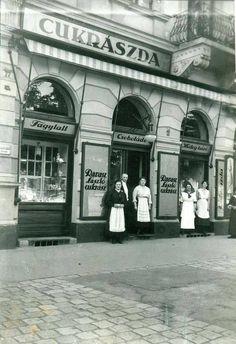 1916. Ravasz cukrászda Krisztina körút 21