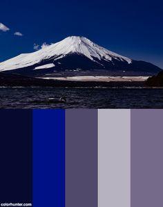 Mtfuji_富士山_3+Color+Scheme