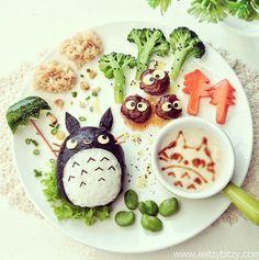 Soup Art - My Neighbor Totoro