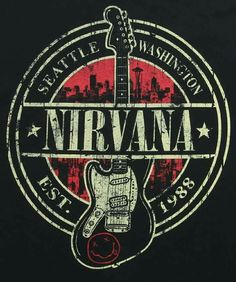 We have rock shirts featuring such bands as The Beatles, The Who, Kiss and many more! Adult rock band t shirts for men and women. Nirvana Band, Logo Nirvana, Banda Nirvana, Nirvana Lyrics, Rock And Roll, Rock Logos, Rockband Logos, Music Metal, Rock Band Posters