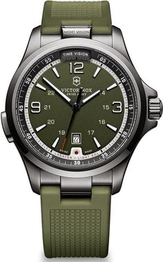 @vxswissarmy  Watch Night Vision #bezel-fixed #bracelet-strap-rubber #brand-victorinox-swiss-army #case-material-black-pvd #case-width-42mm #classic #date-yes #delivery-timescale-call-us #dial-colour-green #gender-mens #movement-quartz-battery #official-stockist-for-victorinox-swiss-army-watches #packaging-victorinox-swiss-army-watch-packaging #style-dress #subcat-night-vision #supplier-model-no-241595 #warranty-victorinox-swiss-army-official-3-year-guarantee #water-resistant-50m