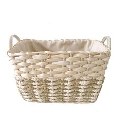 Organizing Essentials Rectangle Corn Seagrass Basket