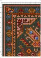 Gallery.ru / Фото #4 - 23 - kento Cross Stitch Patterns, Projects To Try, Rugs, Gallery, Home Decor, Farmhouse Rugs, Dots, Decoration Home, Roof Rack