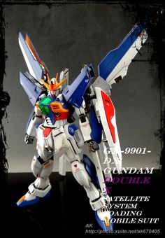 Custom Build: MG 1/100 Gundam Double X - Gundam Kits Collection News and Reviews