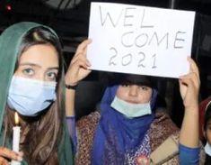 کرونا وباء میں سال2021ء کا منفرد استقبال، کہیں آتشبازی توکہیں کرفیو اور پابندیاں - jtn online