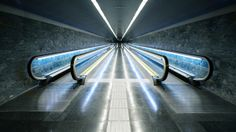 under the city. by Hans Findling, via Behance