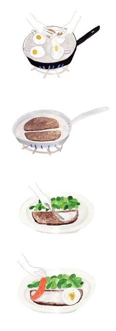 Recipe illustration by Sainte Maria