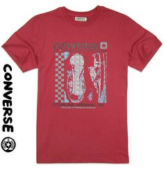 Converse Outlet, Converse Star, Converse Online, Converse Vintage, Ox, Stars, Mens Tops, T Shirt, Fashion