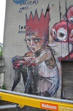 Herakut #street art