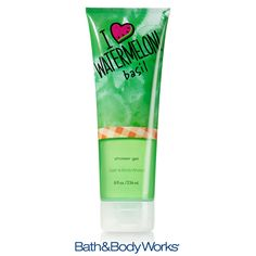 ♥ summer? Then you'll love our I ♥ Watermelon Basil Shower Gel — luxurious lather with a hint of your favorite summertime fruit!  #LUVBBW