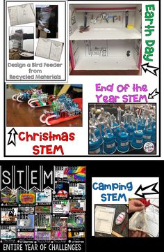 STEM for the Entire Year Bundle includes over over 20 Challenges, experiments, and activities your students will love all yearlong in your classroom! These activities are great for team building at the beginning of the school and covers holidays throughout the year! Slime Experiments and Making End of the Year Awards are two of my favorite STEM Challenges. Your students will be engaged as they think critically and problem solve.