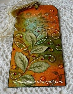 Heartfelt Creations Bella Rose Leaves cards - Google Search